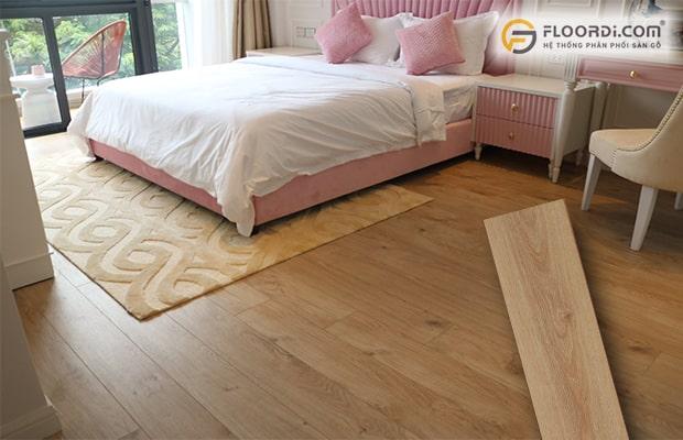 Bạn nên lựa chọn ván sàn có kích thước hợp lý