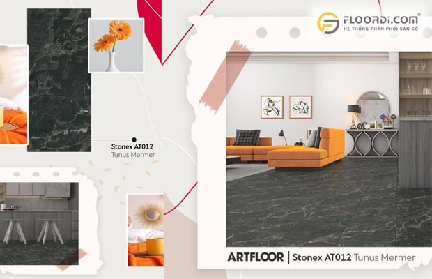Màu sắc giúp không gian nhà ở trở nên sinh động và ấn tượng