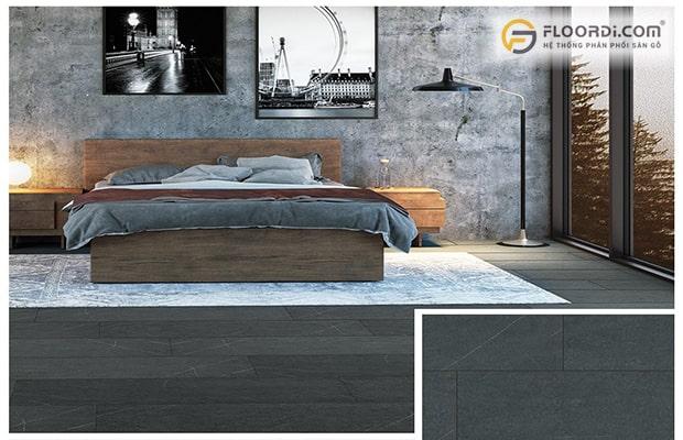 Ván sàn màu xám đen
