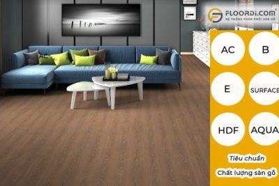 Tiêu chuẩn đánh giá chất lượng sàn gỗ