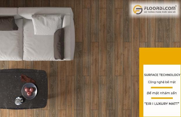 Các loại sàn ứng dụng công nghệ bề mặt nhám sần đảm bảo tính thẩm mỹ hoàn hảo