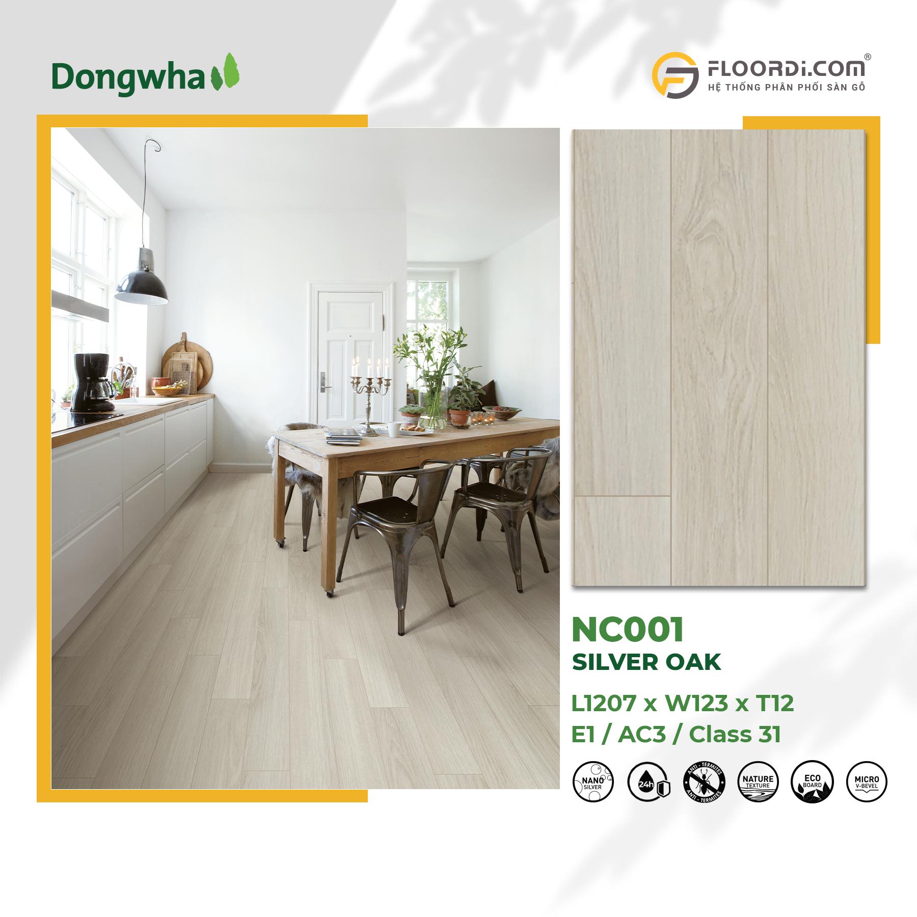 Album Dongwha 1800x1800 NC001 Silver Oak 052021