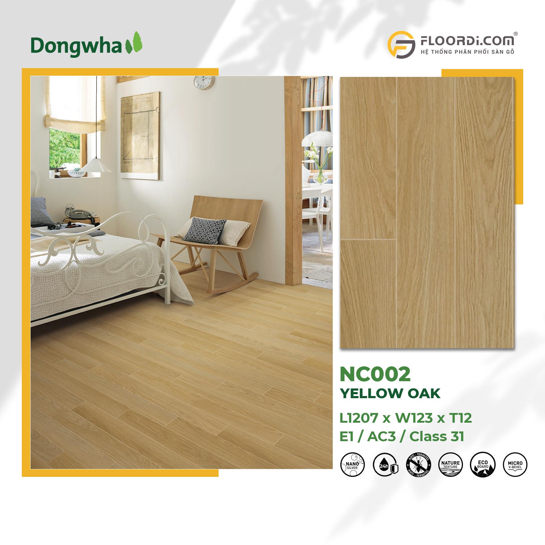 Album Dongwha 1800x1800 NC002 Yellow Oak 052021
