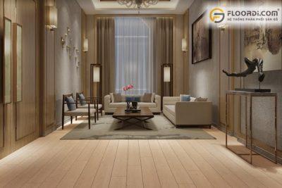 Nên chọn sàn gỗ màu sáng hay tối
