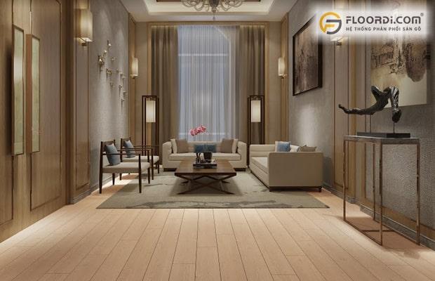 Cách chọn màu sàn gỗ cần đảm bảo nguyên tắc sẽ giúp cho không gian trở nên hoàn hảo