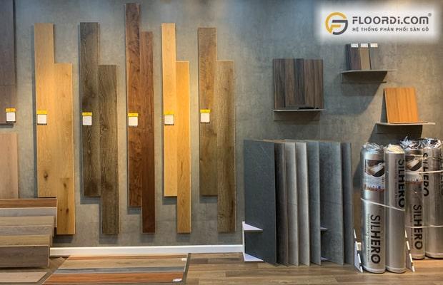Dựa vào phong cách thiết kế để chọn ra màu sàn sao cho phù hợp và toát lên chất thẩm mỹ cao