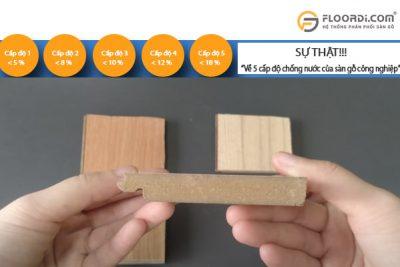 Tác hại nghiêm trọng khi sử dụng sàn gỗ có độ trương nở cao