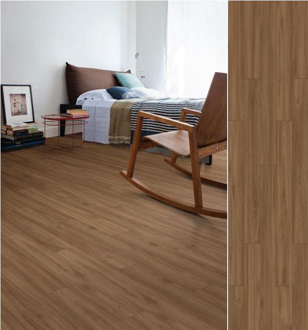 Sàn gỗ SM007 – Elegant Walnut