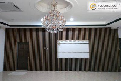 Gỗ ốp tường phòng khách đẹp