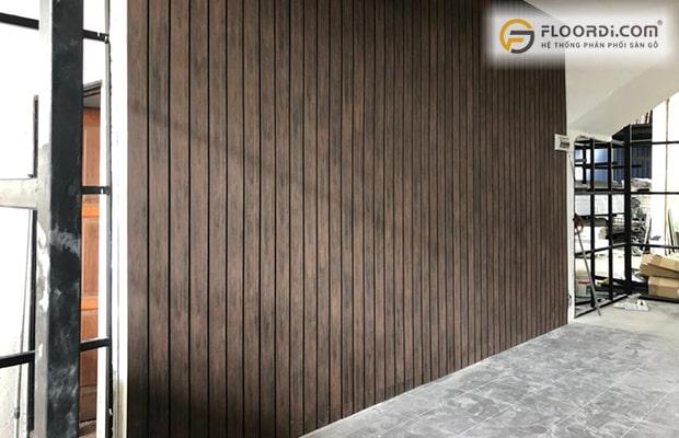 Tấm ốp tường trong nhà đem đến vẻ đẹp theo khuynh hướng châu Âu mới mẻ